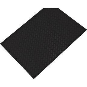 """Non-Slip Mat, Weave Pattern, Umbra Gray, 23-5/8"""" x 46-1/16"""""""