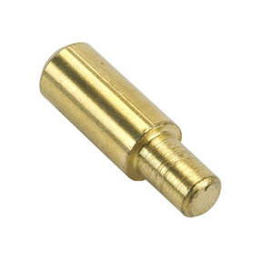 Shelf Support 5 mm Pin Round Brass 20 pk