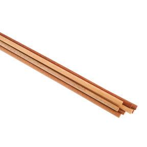 """6 pc 7/16"""" x 12"""" Assorted Wood Dowel"""