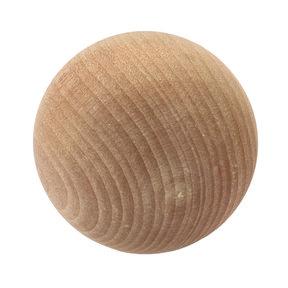 "Hardwood Ball - 1-1/2"" Diameter - 2 Piece"