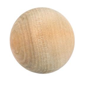 "Hardwood Ball - 2"" Diameter"