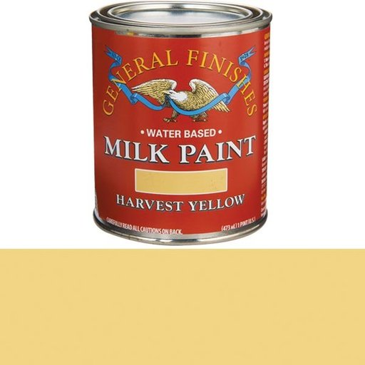 View a Larger Image of Harvest Yellow Milk Paint Water Based Pint