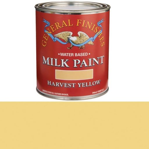 View a Larger Image of Harvest Yellow Milk Paint Water Based Quart
