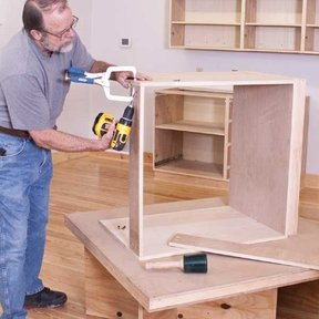 Hassle Free Workshop Cabinets - Downloadable Plan