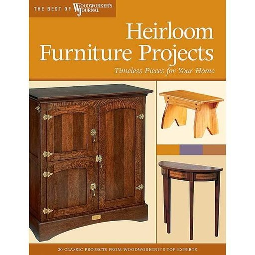 View a Larger Image of Heirloom Furniture Projects: Timeless Pieces for Your Home (Best of WWJ)