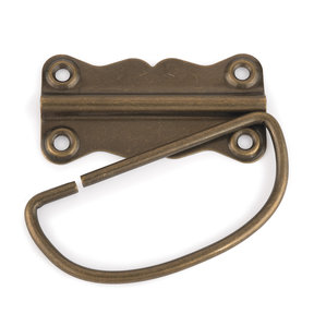 Chest Handle Antique Brass 1 pc with Screws