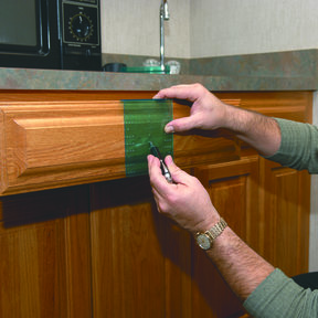 Drawer Knob And Pull Drilling Guide Template