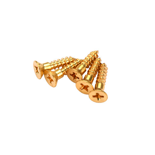 """View a Larger Image of #2 x 1/2"""" Solid Brass Phillips Screws 25 pc"""