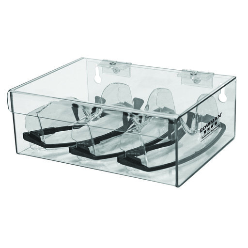 View a Larger Image of Hinged Lid Storage Box Clear