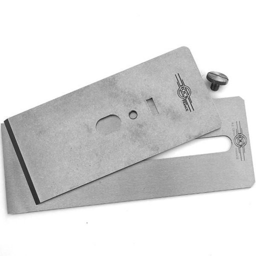 """View a Larger Image of Tools A2 2.62"""" Blade and Breaker for #8 Stanley/Record Planes"""