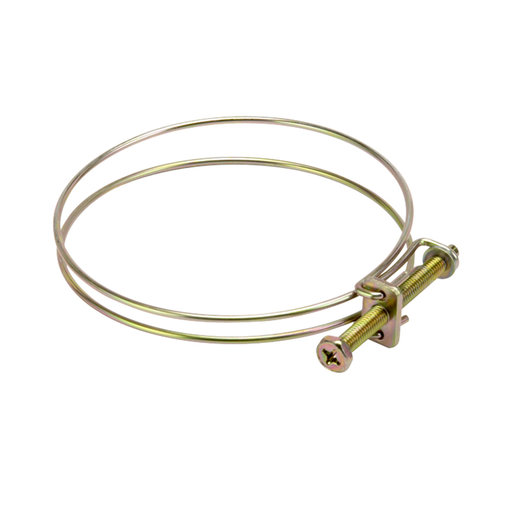 """View a Larger Image of Hose Clamp., 4"""" Wire"""