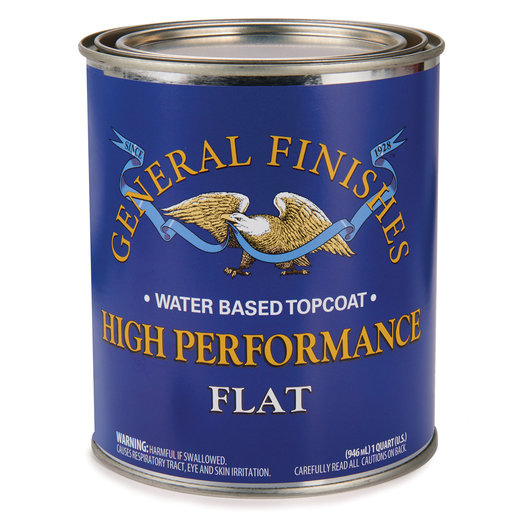 View a Larger Image of Flat High Performance Varnish Water Based Quart