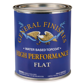 Flat High Performance Varnish Water Based Quart
