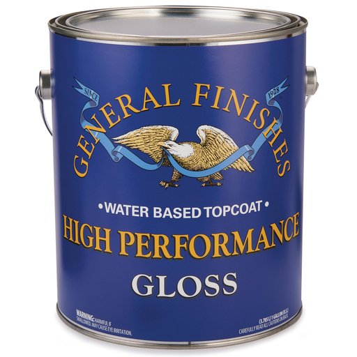 View a Larger Image of Gloss High Performance Varnish Water Based Gallon