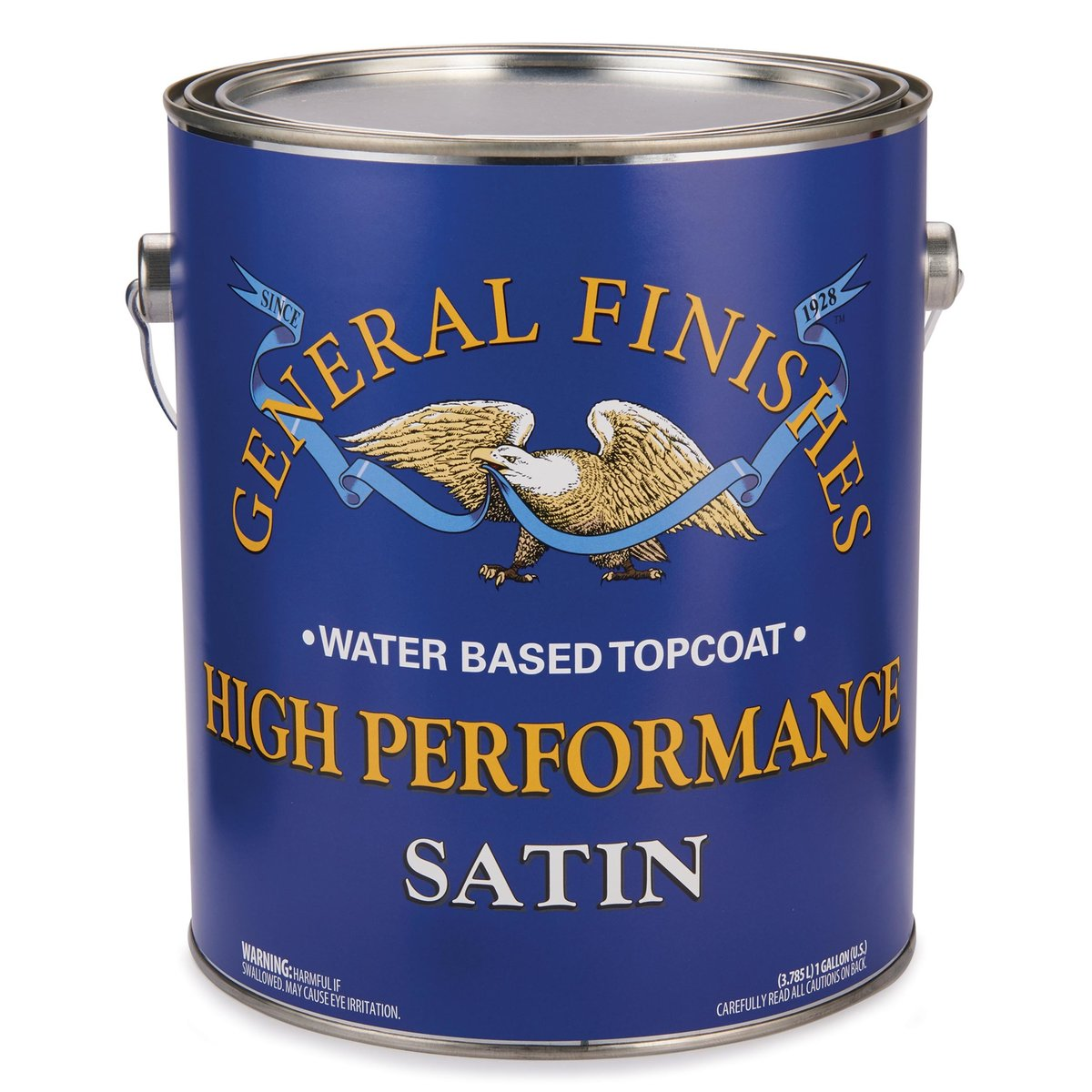 View a Larger Image of Satin High Performance Varnish Water Based Gallon