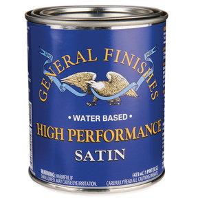 Satin High Performance Varnish Water Based Pint