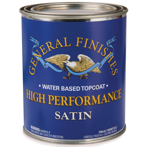 View a Larger Image of Satin High Performance Varnish Water Based Quart