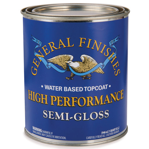 View a Larger Image of Semi-Gloss High Performance Varnish Water Based Quart