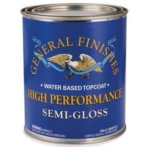 Semi-Gloss High Performance Varnish Water Based Quart