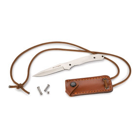 """Hunter's Neck Fixed Blade Knife for Hunting and Fishing - 6-5/8"""" - Unfinished Kit"""