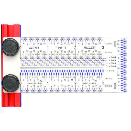 View a Larger Image of Tiny T-rule