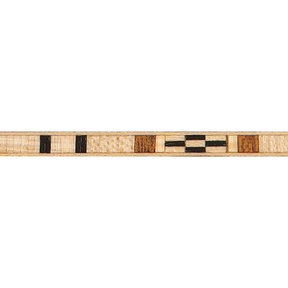 """Wood Inlay Strip #06 - 3/16"""" x 36"""" - 2 Piece"""