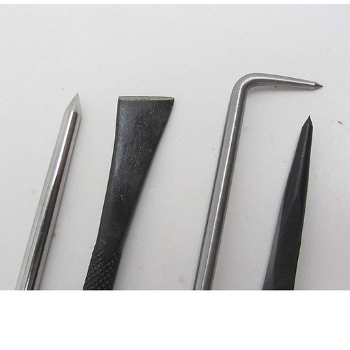 View a Larger Image of Intaglio Etching Scriber Knife Set, 5 pieces