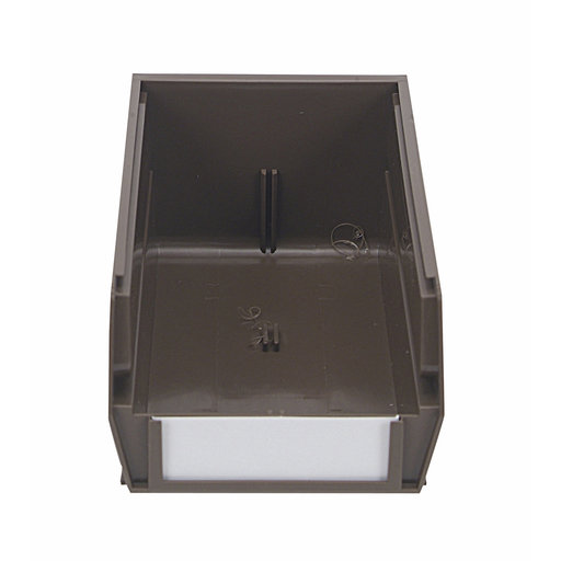 """View a Larger Image of 24ct - 7-3/8""""L x 4-1/8""""W x 3""""H Brown Stacking/Hanging Bins"""