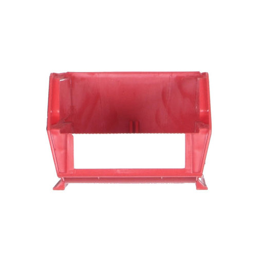 """View a Larger Image of 24ct - 7-3/8""""L x 4-1/8""""W x 3""""H Red Stacking/Hanging Bins"""