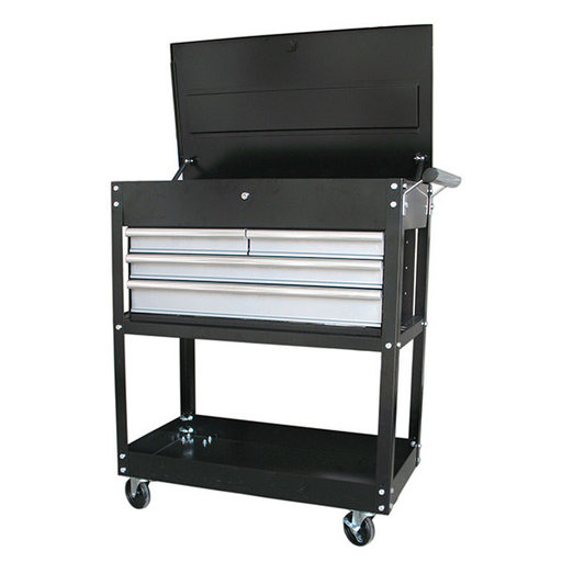 """View a Larger Image of 33"""" 4-Drawer Heavy Duty Utility Cart"""