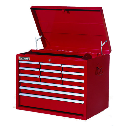 """View a Larger Image of Classic Series 27"""" 12-Drawer Tool Chest, Red"""