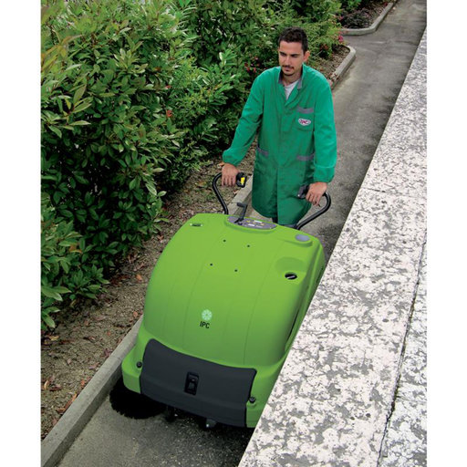 """View a Larger Image of 28"""" Battery Sweeper with 100Ah Gel Battery, Model 512 ET 100"""