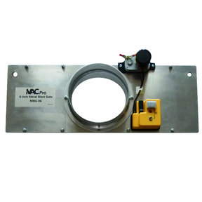 """iVAC Pro 6"""" Metal Automated Dust Collector Blast Gate"""