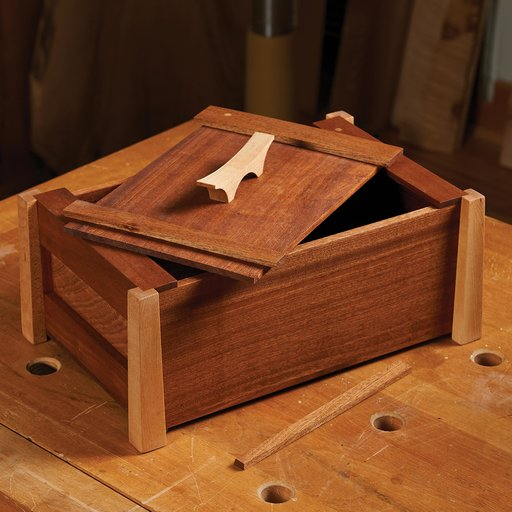 View a Larger Image of Japanese Gift Box Downloadable Plan