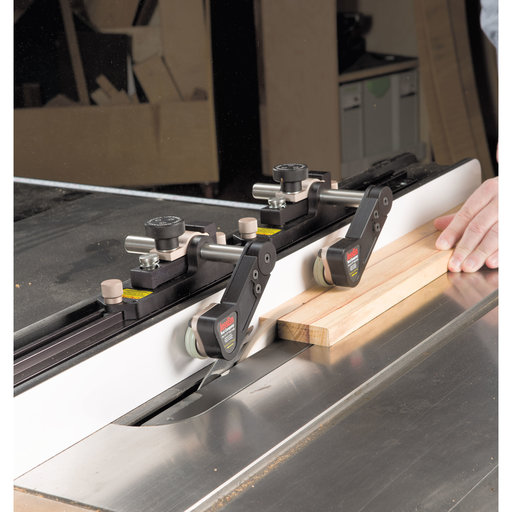 View a Larger Image of Clear-Cut Precision Stock Guides For Table Saws, # 04301