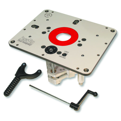 """View a Larger Image of Rout-R-Lift II Router Lift For 3-1/2"""" Diameter Motors, # 02310"""