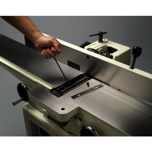 """View a Larger Image of 6"""" Deluxe Jointer with QS Knives, Model JJ-6CSDX"""