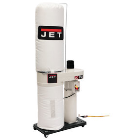 650 CFM Dust Collector with Bag Filters, 1 HP, Model DC-650