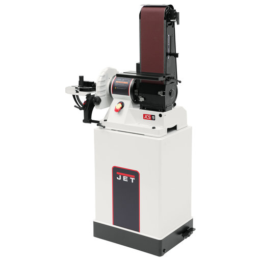 View a Larger Image of Belt/Disc Sander with Closed Stand, Model JSG-96CS