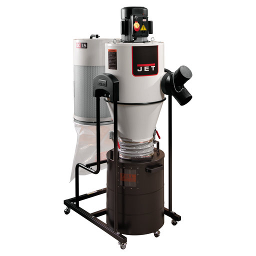 View a Larger Image of Cyclone Dust Collector, 1.5HP