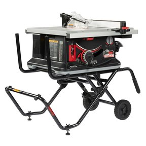 1-1/2HP 1PH 120V Jobsite Saw PRO with Mobile Cart Assembly