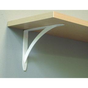 "John Sterling Elegante Decorative Bracket, 10"", White Finish"
