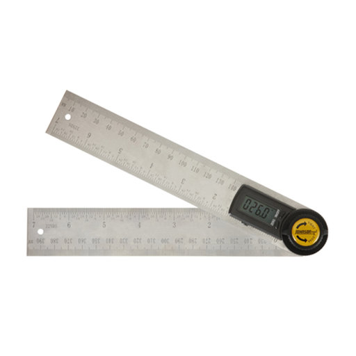 """View a Larger Image of 7"""" Digital Angle Locator and Ruler"""