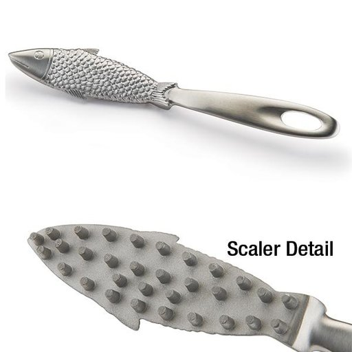 View a Larger Image of Joyfu Premium Stainless Steel Fish Scale