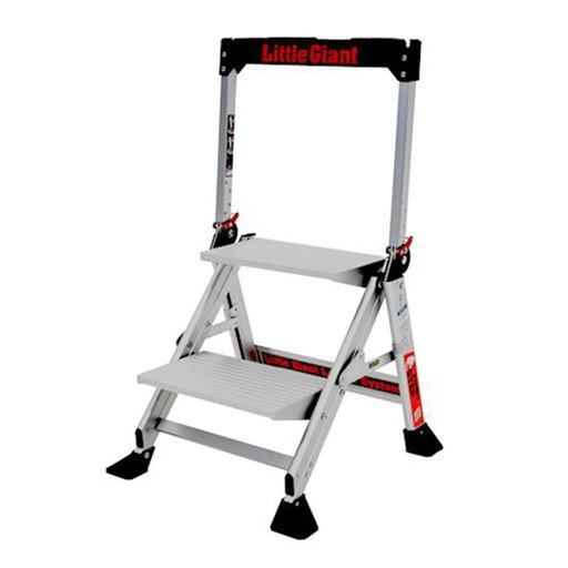View a Larger Image of Jumbo Step 2-Step Ladder