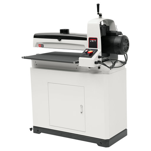 View a Larger Image of JWDS-2550 Drum Sander with Closed Stand