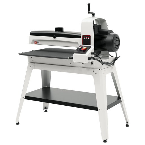 View a Larger Image of JWDS-2550 Drum Sander with Open Stand