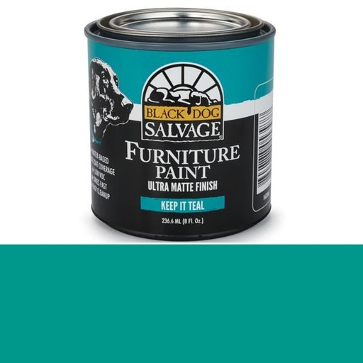 View a Larger Image of Keep It Teal' - Teal Furniture Paint, 1/2 Pint 236.6ml (8 fl. Oz.)