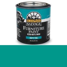 Keep It Teal' - Teal Furniture Paint, 1/2 Pint 236.6ml (8 fl. Oz.)