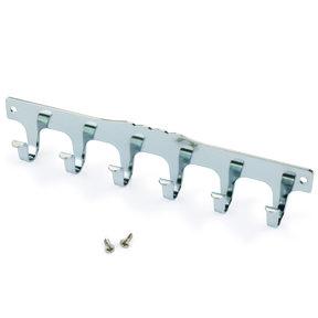 6-Hook Strip Nickel Plated